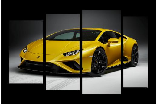 Модульная картина Lamborghini Huracan